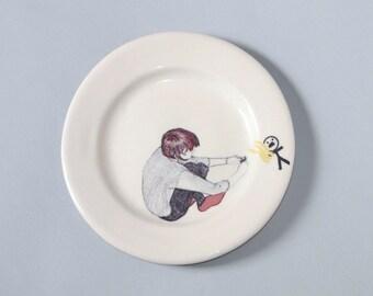 Small Plate 'Fire Starter'