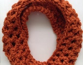 Toddler Scarf - Pumpkin Scarf - Scarf for Babies - Toddler Cowl - Baby Scarf - Baby Infinity Scarf - Toddler Infinity Scarf