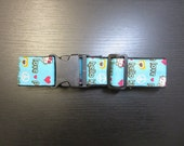 LUGGAGE STRAP, Hello Kitty,  Hearts, Baby blue, Adjustable Free Shipping