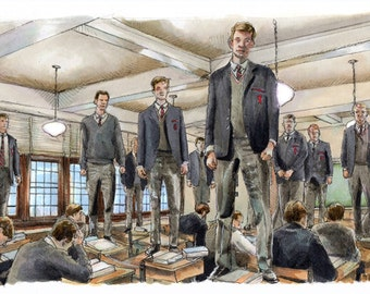 Dead Poets Society - Oh Captain My Captain Poster Print