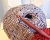Size L Laurel Hill Nam Oc Crochet Hook - 8.00 mm Exotic Wood Crochet Hook