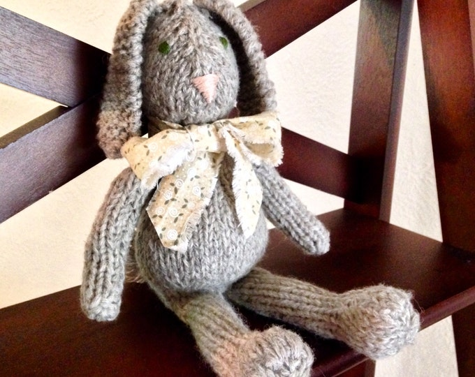 Shabby Chic Knitted Bunny