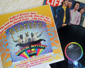 1967 BEATLES Magical Mystery Tour * Vinyl Record * Psychedelic