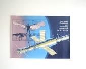 1978 Soviet / East German DDR Space flight Advertising Poster