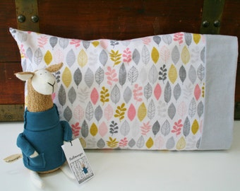 organic flannel pillowcase a new leaf cotton toddler pillowcase travel pillowcase