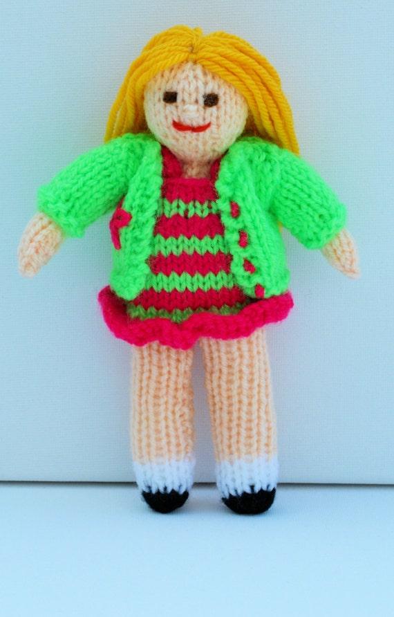 Knitting Patterns For Dolls Bedding : Rag Doll Pattern, Doll Knitting Pattern, Knit Doll, Doll Clothes,Doll Pattern...