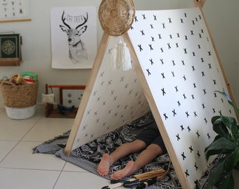 Cross - Hand painted Tent - LAST CHRISTMAS ORDERS