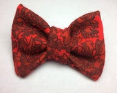 The Purrrfect Christmas Cat Bow Tie