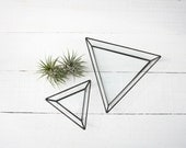 Small Triangle Dish / Ring Dish / catchall / ring holder / jewelry box / incense holder / smudging tray / air plant container / organizer