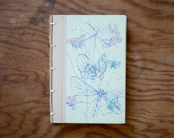 hand made journal // hard bound journal
