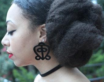 Love Always Finds It's Way Home - AdiNkrA Earrings