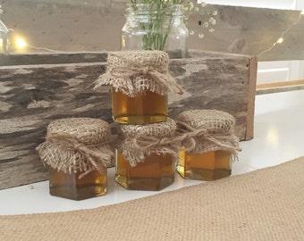 20 Rustic Wedding/Party Favor Jar