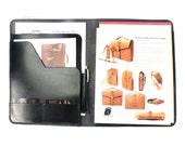 Black Bridle Leather Portfolio