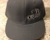 Grizzly Snuff Adjustable Grey Hat