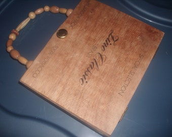 Vintage CIGAR BOX PURSE