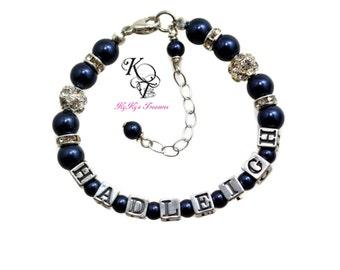 Personalized Baby Bracelet, New Baby Gift, Keepsake Gift, Keepsake Baby Gift, Keepsake Baby Bracelet, Little Girl Bracelet