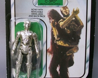 Vintage Star Wars Palitoy C-3PO MOC New in Packaging 1983