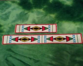Handmade Native American Beadwork, Blackfeet Design