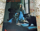"Carole King ""Tapestry"" Music Book, Vintage 1971,  ""I Feel the Earth Move"", ""It's Too Late"" Many Many More  #71"