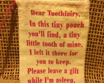 Toothfairy pouch