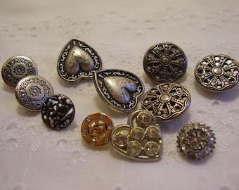 Vintage Button Destash Lot/Sewing/Craft supply