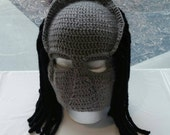 Crocheted Predator Mask