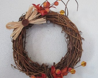 Autumn, Fall Vine wreath