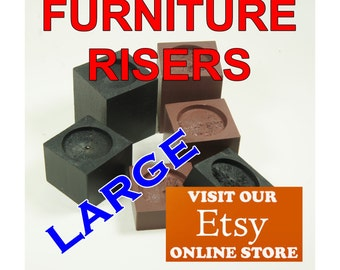 LARGE Furniture Risers, Bed Risers