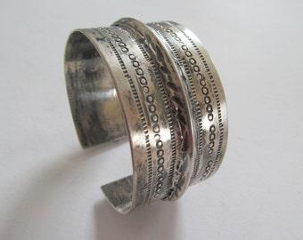 Bangle Bracelet silver Sterling 800 hallmark stamp Tunisia Africa Morocco Asia India