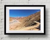 Scenic Trek to Chandratal Lake, Landscape Photograph, Himalayas, Nature, Wall Art Print, Wall Deco, Fine Art Print, Home Deco, Mountain