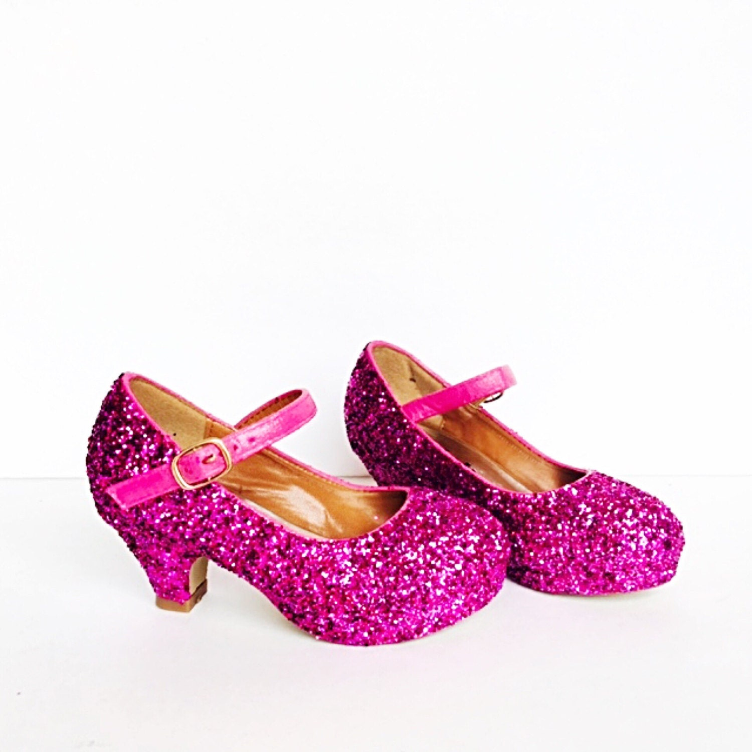 Hot Pink Heels For Kids - Boot Hto
