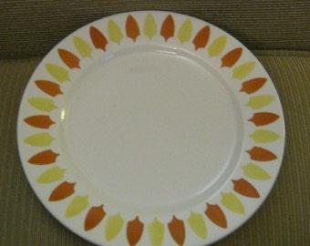 Tahoe Mayer China Dinner Plate 9 5/8 inch Restaurant Ware 1960s backstamp Tahoe pattern