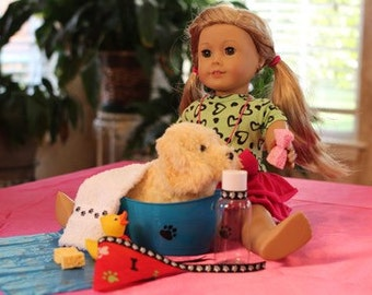 Doll Pet Grooming Set - fits American Girl AG dolls!