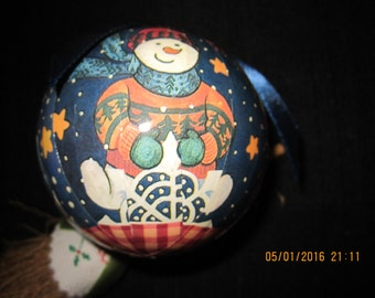 Snowman Decopauge Christmas Tree Ornament