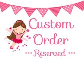 Custom Order for CHELSEA -  Family Finger Puppets - Quiet Time Play Toy