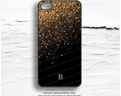 iPhone 6S Case Personalized iPhone 6 Case Gold iPhone 5s Case Gold Splatter Print iPhone 5 Case Gold Print iPhone Case iPhone 5C Case N53
