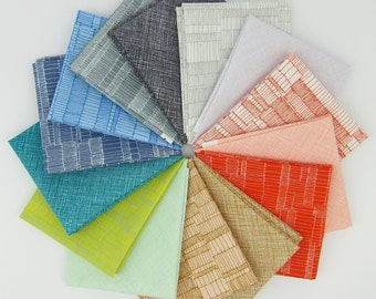 Carkai Coordinates Fat Quarter Bundle - Carolyn Friedlander - Robert Kaufman - 14 Fat Quarters