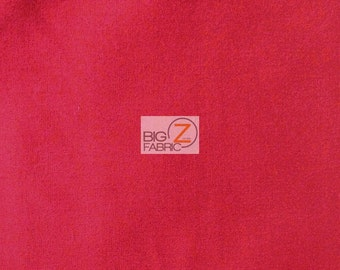 "Solid Poly Cotton Fabric - FUCHSIA - Sold By The Yard Polycotton 58""/60"" Width (P207)"
