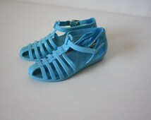 Vintage Jellie Sandals / Jelly Sandals / Toddler Jellies / Jelly Gladiators 5