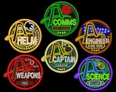 Artemis Station Patches - Set of Six
