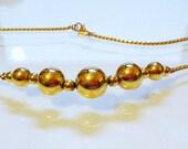MONET 16 Inch Vintage Necklace Timeless Striking Design