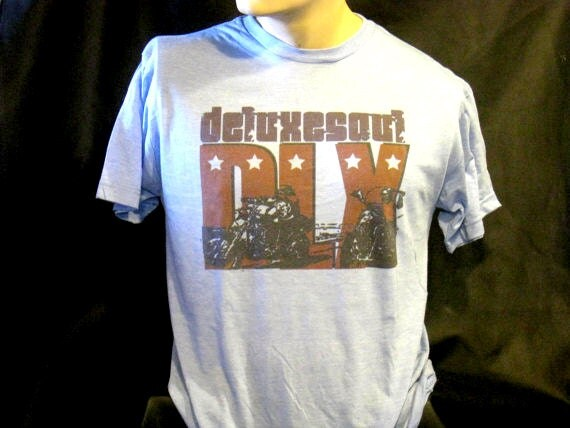 Deluxesoul artist brand / Easy Rider style on soft tee