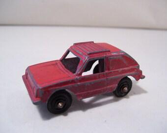 Vintage Tootsietoy Volkswagen Rabbit Die-cast Car, Red, Made in USA