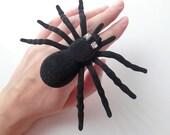 DARKWHISPER Couture Retro Exquisite Handmade Black Widow Spider Halloween Ring
