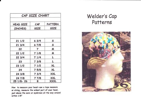 Pdf Welder S Hat Cap Pattern For 6 Panel Short By