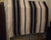 Large Ethnic Blanket Rug Wallhanging Very Cool
