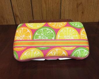 Citrus Diaper Wipe Case