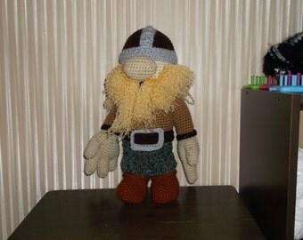 Crochet Dwarf or Viking