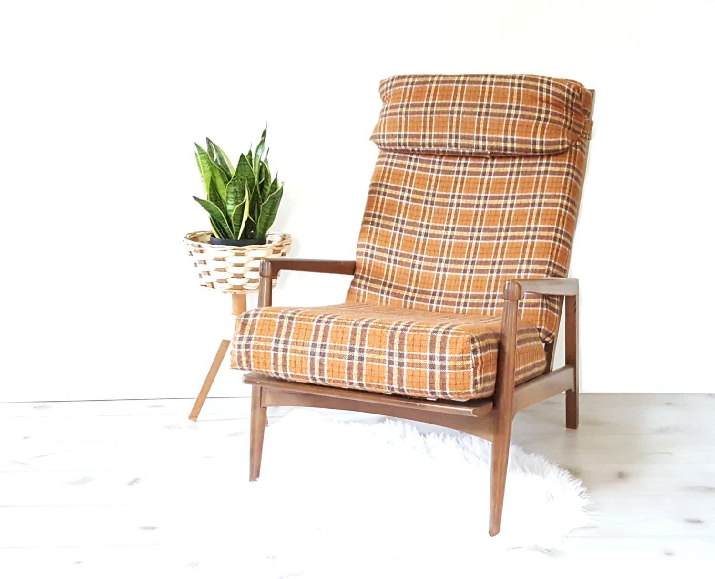 Danish Modern Chair 1960 S Danish Style Walnut By