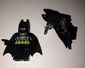 Superhero Lego Cufflinks - Batman
